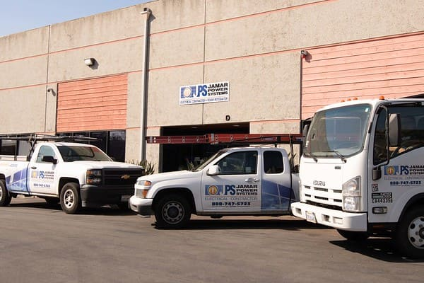 Jamar Power Systems - Santee CA - Solar and Electrical Contractors - Truck Fleet and Warehouse