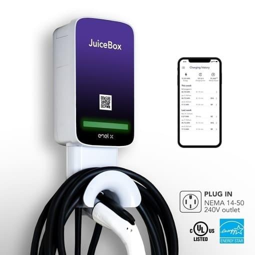 JuiceBox pro 32 electric vehicle charging station